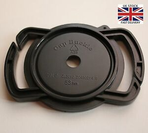 Lens-Cap-Holder-Buckle-Keeper-for-Sony-52mm-58mm-67mm-size-Canon-Nikon-Pentax-UK