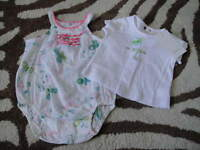 Boutique Catimini 1m 1 54 Butterfly Outfit And Shirt Set 0-3
