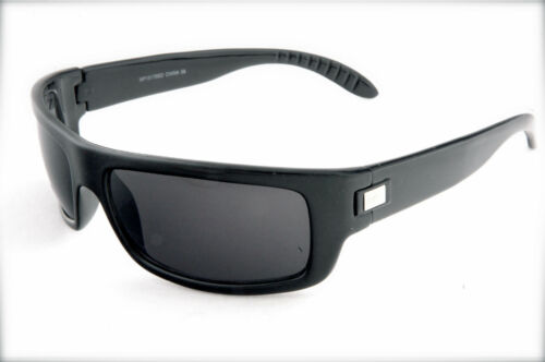 Lightweight Comfort Men Sunglasses with silver detail  UV protection black color