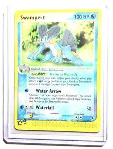 1x Swampert Ruby /& Sapphire Rare NM-Mint Pokemon EX 23//109