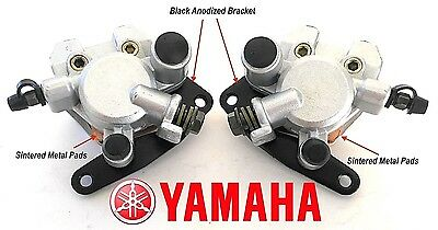 NEW FRONT BRAKE CALIPER SET FOR Yamaha ATV BANSHEE YFZ350 1990-2001 BIG BEAR 400