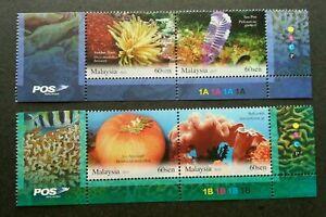 SJ-Malaysia-Living-Corals-2013-Underwater-Life-Reef-Marine-stamp-logo-MNH