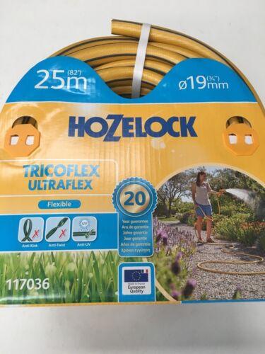 3//4/'/' Hozelock Tricoflex Ultraflex Yellow Hose 25m x 19mm