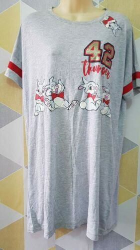 Disney Thumper Bunny Supersoft Ladies Nightdress Long T-Shirt Nightwear Primark.