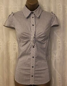 Top 14 Millen Sleeve Shirt Cotton Office 42 Stripe Collared Uk Cap Stretch Karen Fn6zqdAz