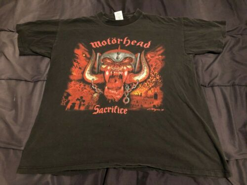 Motorhead T Shirt Large Vintage Sacrifice 95 Metal