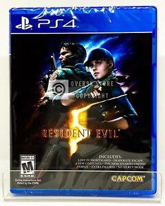 Resident Evil 5 Ps4 Brand New Factory Sealed 13388560301 Ebay