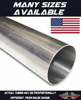 304 Stainless Exhaust Header Tubing 1 Foot Of 2 1/2 American Made