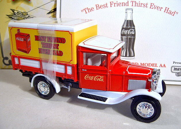 Models of Yesteryear 1932 Ford Model  AA   Coca Cola  neu in Box