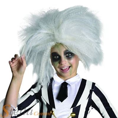 Official Girls Child Beetlejuice Wig Halloween Fancy Dress Costume Accessory 82686366304 Ebay
