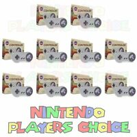 Wholesale Lot 10 Controllers For Snes Super Nintendo System Control Pads