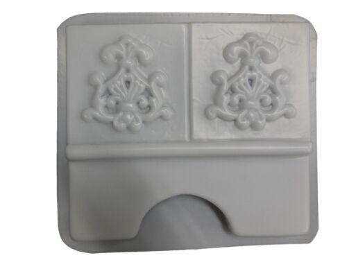 Roman Floral Border Edging Edger Stepping Stone Concrete Mold 5018 Moldcreations