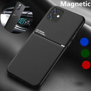 Magnetic-Hybrid-Soft-Carbon-Fiber-Case-For-iPhone-12-Pro-Max-11-X-XR-XS-8-7-Plus
