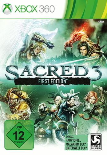 1 von 1 - Sacred 3 -- First Edition (Microsoft Xbox 360, 2014, DVD-Box)