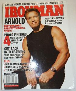 Ironman magazine arnold schwarzenegger january 2004 112814r ebay image is loading ironman magazine arnold schwarzenegger january 2004 112814r malvernweather Choice Image