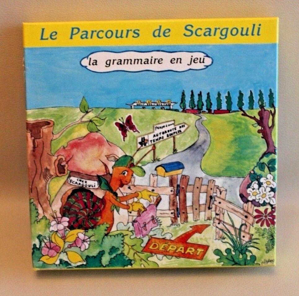 Le parcours de Scargouli - La Grammaire en Jeu - Orthophoniste, éducatif