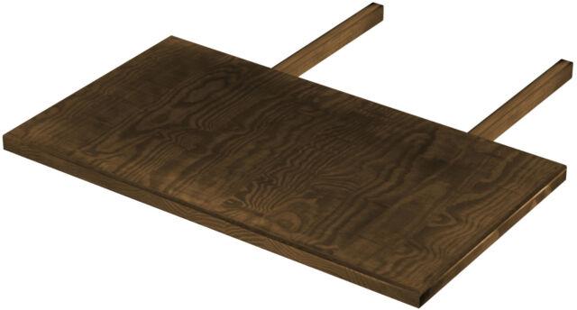 2x Ansteckplatten Ohio Sheesham Massiv Esstisch Tischerweiterung Tisch Gunstig Kaufen Ebay