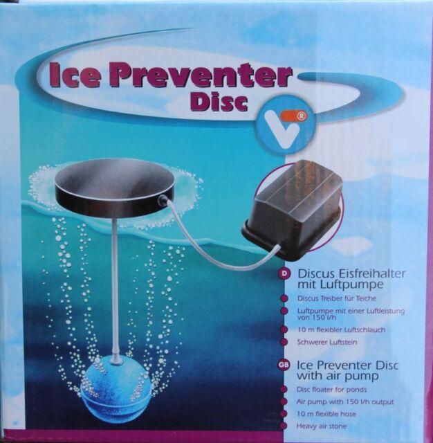 Velda Discus Eisfreihalter mit 220 Volt Luftpumpe für Teiche im Winter