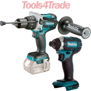 Makita-DHP481Z-18V-LXT-Brushless-Combi-Drill-With-Makita-DTD152Z-Impact-Driver