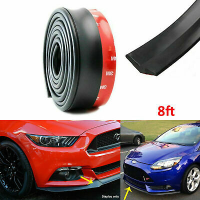 4pcs Matte Black Carbon Fiber Pattern Front Bumper Lip Fins Canards Splitters Body Diffuser Universal Fit Xotic Tech Car Bumper Protector