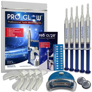 New Pro Glow 174 Professional Teeth Whitening Gel Kit 15ml