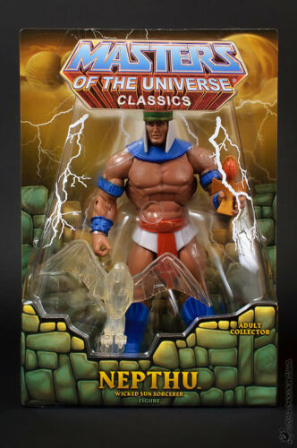MOTUC Nepthu Masters of the Universe Classics Masters Of The Universe New He-Man