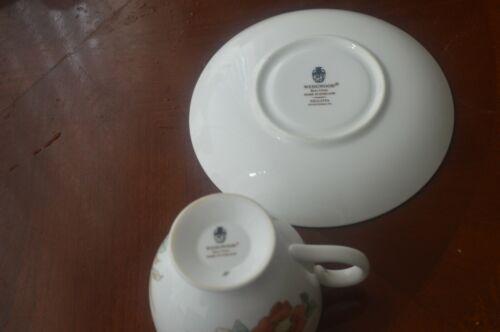 Wedgwood Philippa tea cup and saucer FREE P/&P