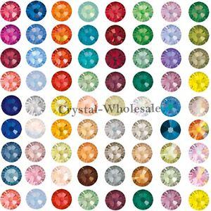 144-Swarovski-2058-9ss-crystal-flatbacks-rhinestones-nail-art-2-6mm-ss9-A-D