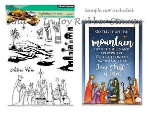 Penny-Black-Lighting-the-Way-Nativity-3-Kings-Christmas-Clear-Stamp-Set