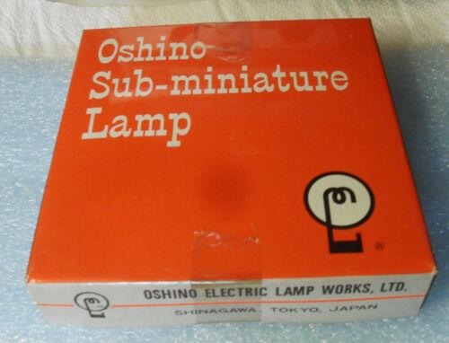 Oshino Miniaturlämpchen 12V 40mA OL-394 Sockel SX6S 6mm Lg 15,5mm 2xlong Life