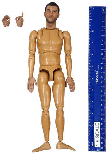 Nude Figure Captain Sam 1//6 Scale DID WWII US 77th Inf Action Figures