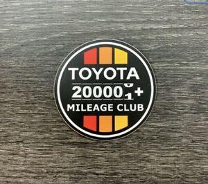 Toyota 200k Mileage Club Sticker Decal Tundra Tacoma 4X4 4Runner Fj Cruiser TRD