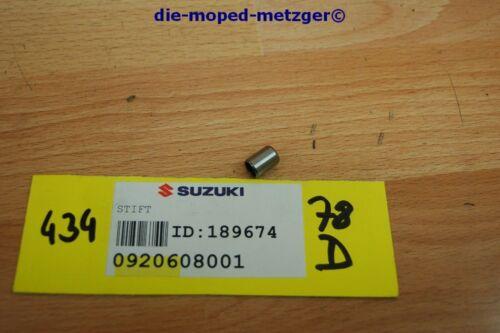 Suzuki Stift 09206-08001 Original NEU NOS xs434