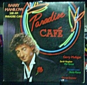 BARRY-MANILOW-2-00-AM-Paradise-Cafe-Album-Released-1984-Vinyl-Record-USA