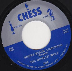 "HOWLIN' WOLF - Smoke Stack Lightning 7"" 45"