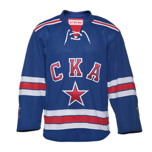 CCM SKA Premier home jersey hockey KHL - Saint Petersburg