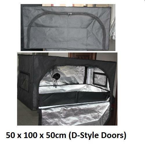 Mylar Grow Tent aluminium Bud salle Hydrophonics Hydrophonic Boîte à lumière Dark New