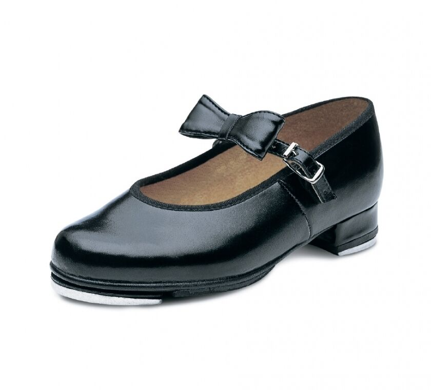 Bloch Merry Jane tap shoes toe & heel taps fitted