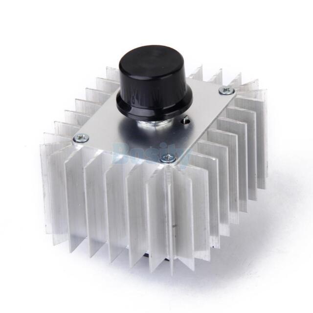 AC 220V 5000W Voltage Regulator Dimming Dimmer Speed Controller Thermostat