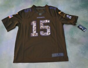 Nike NFL Oakland Raiders Salute To Service Michael Crabtree #15 ...