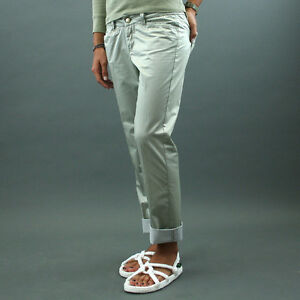 info for ff274 af34b Details about Murphy&nye Trousers Stretch Mod. Caroly Ice