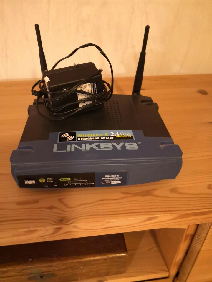 Router, wireless, Linksys