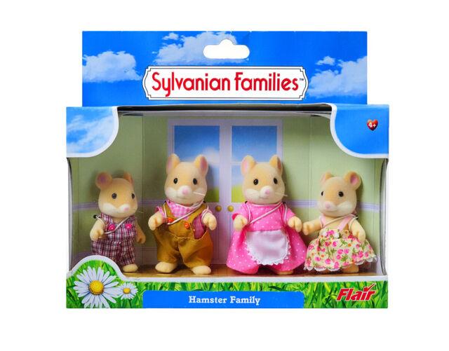 Sylvanian Families Calico Critters Hamilton Hamster Family