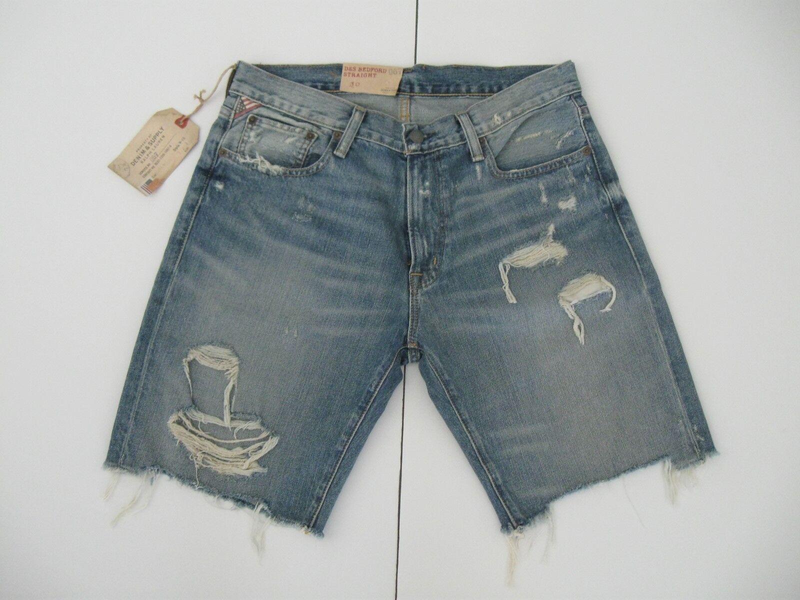 e090205ca Denim   Supply Ralph Lauren Straight-fit Kingwood Shorts 30w
