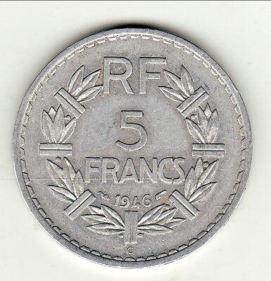 Rare 5 Francs Alu 1946 C Producten Hot Sale