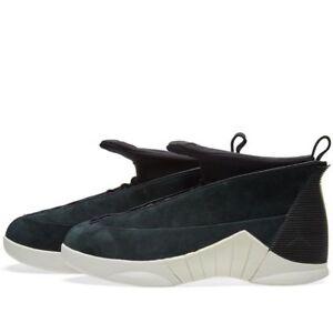 8c93447089e938 Nike Air Jordan 15 XV Retro PSNY Suede Black Size 13. 921194-011
