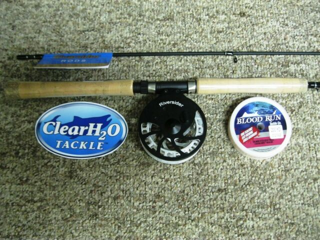 RIVERSIDER CENTERPIN COMBO 11'3 MEDIUM LIGHT 2PC W/ RIVERSIDER FLOAT REEL & LINE