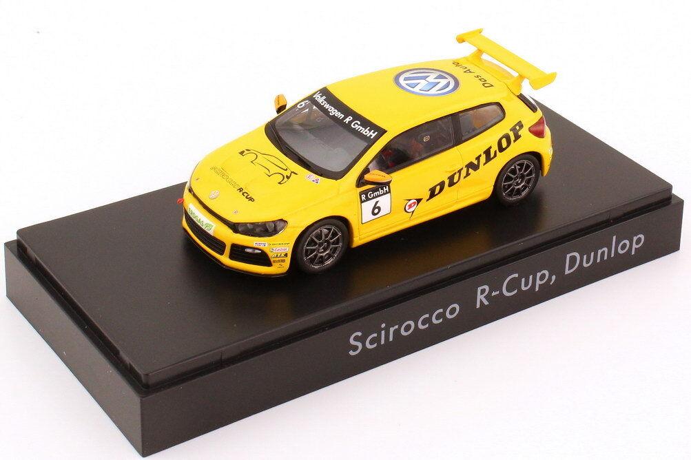 1:43 VW Scirocco III R-Cup 2012 Dunlop nr.6 - VOLKSWAGEN-Dealer Edition-OEM