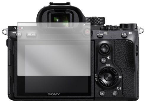 5x lámina protectora para Sony a7r III display lámina claramente protector de pantalla