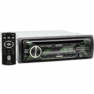 sony mex n5200bt single din bluetooth car stereo receiver. Black Bedroom Furniture Sets. Home Design Ideas